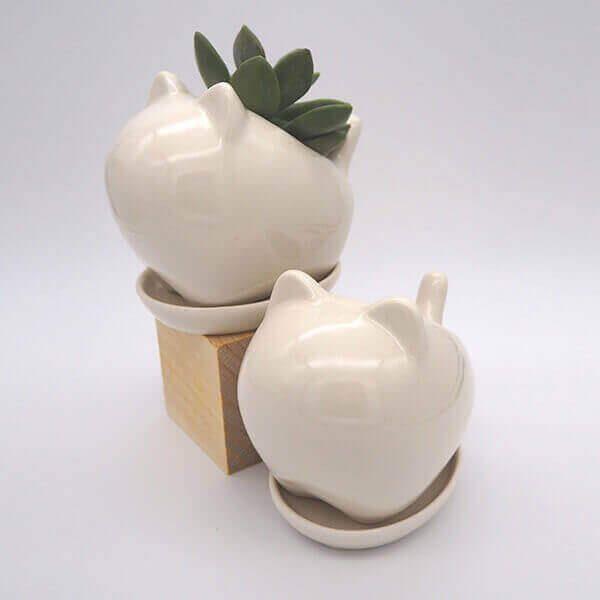 Succulent Bunny Pot